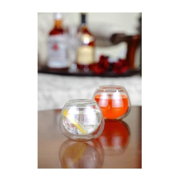 Dvojitá sklenice, 220 ml