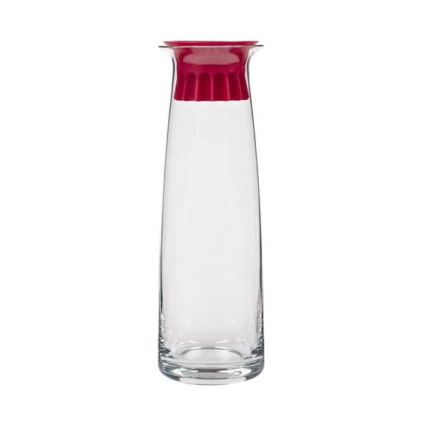 Karafa na vodu Confetti 1l, červená