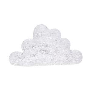 Bílý bavlněný polštář Happy Decor Kids Cloud, 45x45cm