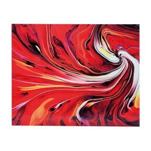 Obraz na skle Kare Design Chaos Fire, 150 x 120cm