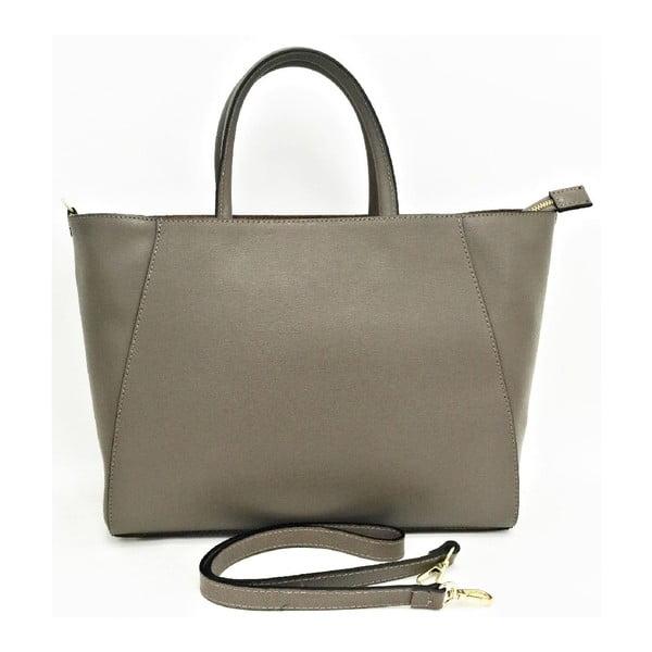 Kožená kabelka Gilda Taupe