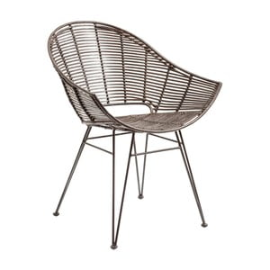 Ratanová židle s područkami Kare Design KoPhai