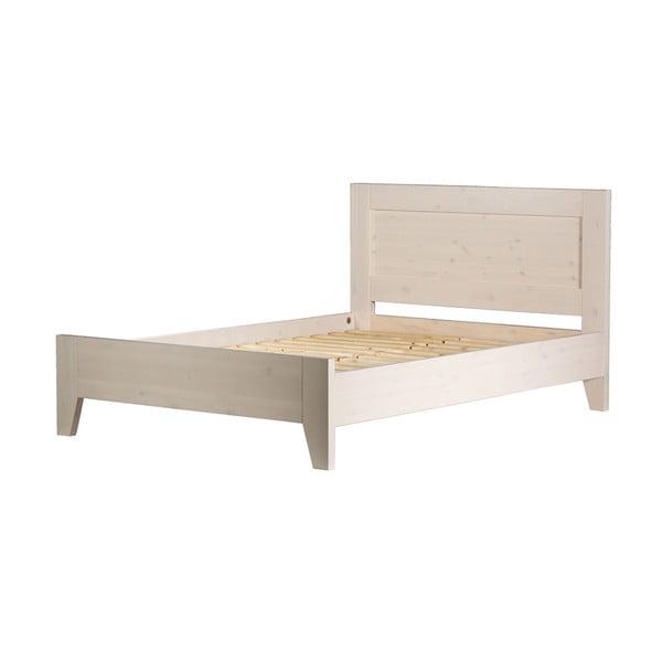 Łóżko z drewna sosnowego Askala Old Moon, szer. 140 cm