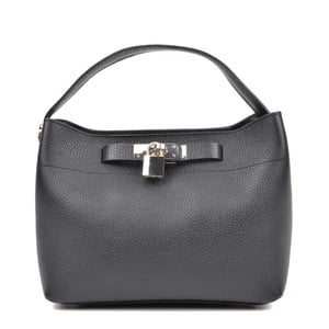Černá kožená kabelka Isabella Rhea Larmilo