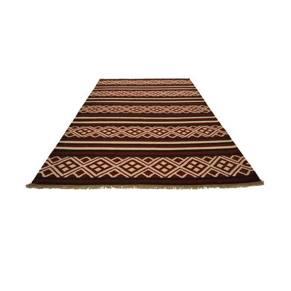 Ručně tkaný koberec Brown Orient, 150x245 cm