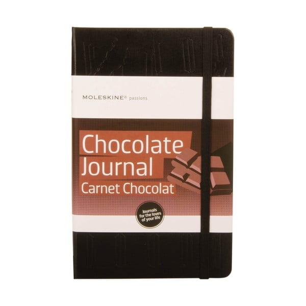 Zápisník Moleskine pro milovníky čokolády Passion