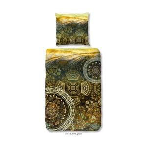 Povlečení na jednolůžko z bavlněného saténu Muller Textiels Jose, 140 x 200 cm