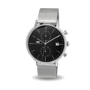 Pánské hodinky ve stříbrné barvě s černým ciferníkem Rhodenwald & Söhne Hyperstar