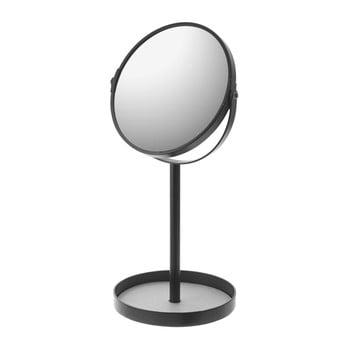 Oglindă cu bol YAMAZAKI Matsuyama, negru imagine