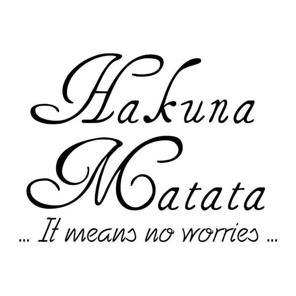 Samolepka Ambiance Hakuna Matata