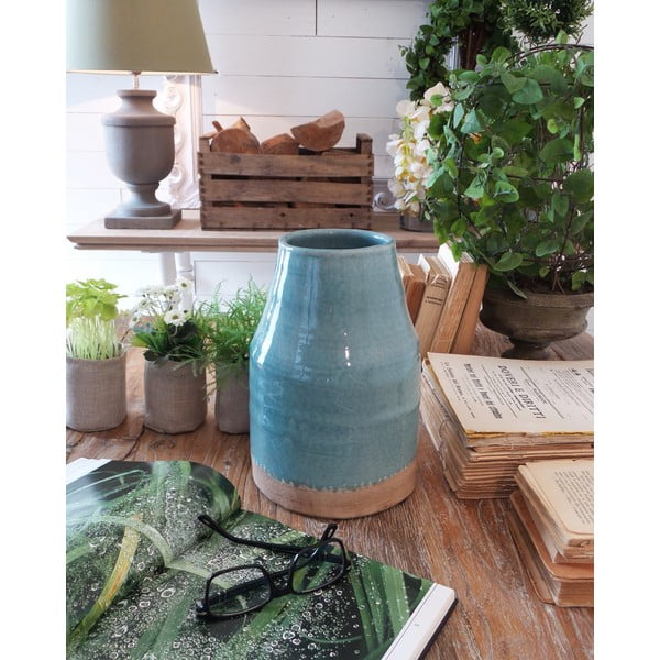 Váza Turquoise Ceramic Milano