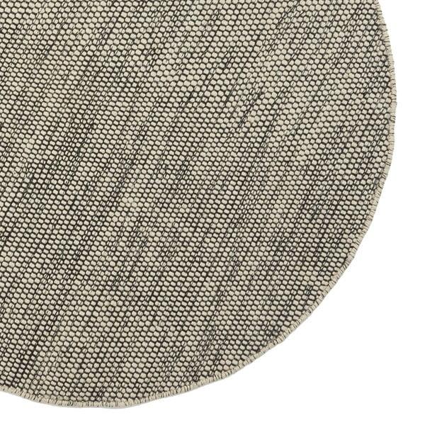 Vlněný koberec Asko, 90 cm, šedobéžový