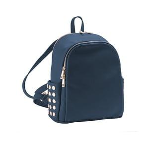 Tmavě modrý batoh z pravé kůže Andrea Cardone Antique Pikalo