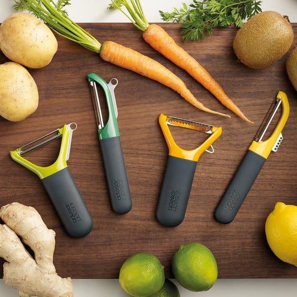 Cuțit pentru răzuit legume Joseph Joseph Multi-peel, verde
