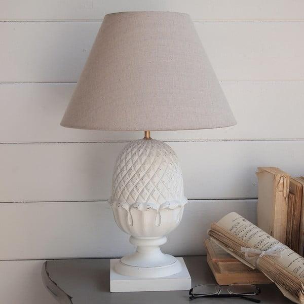 Stolní lampa White Antique, 45 cm