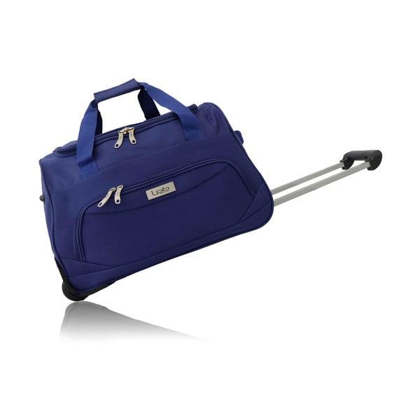 Modrá cestovná taška na kolieskach Les P'tites Bombes Goteborg, 91l