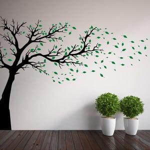 Samolepka na stěnu Wallvinil Strom s lístky, pravá strana