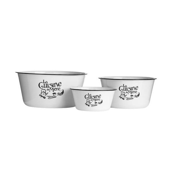 Set 3 boluri Premier Housewares La Cuisine De Mere