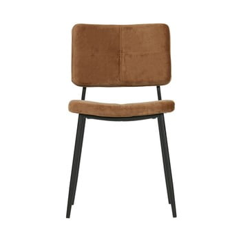 Set 2 scaune WOOOD Kaat,maro