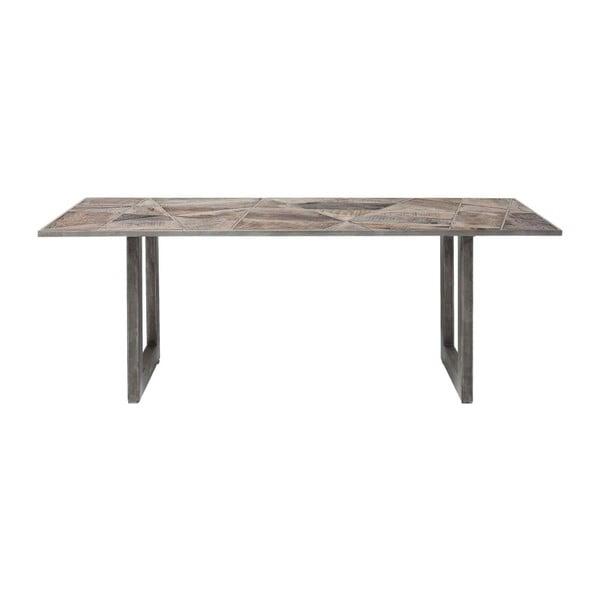 Jídelní stůl s deskou z recyklovaného dřeva Kare Design Storm, 200 x 90 cm