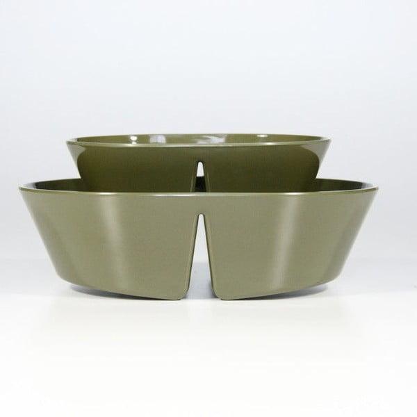 Měřící misky Balancing Bowl, zelená