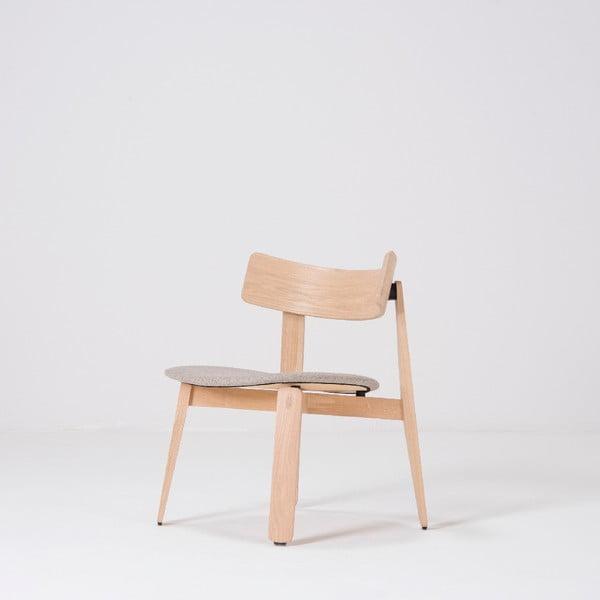 Scaun din lemn de stejar Gazzda Nora