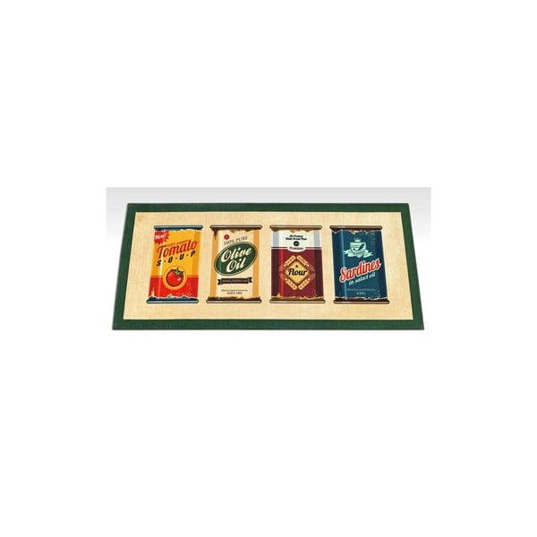 Vysoce odolný kuchyňský koberec Webtappeti Olive Oil & Co.,60 x 115cm