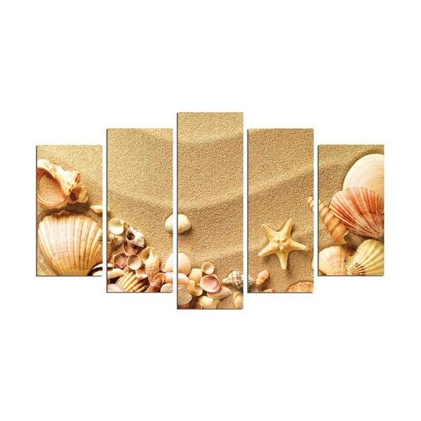Viacdielny nástenný obraz Sand Beach