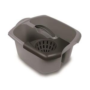 Šedý dvojitý kbelík Addis Wringler