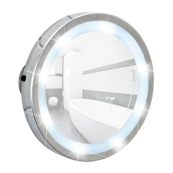 Kosmetyczne lusterko z LED i przyssawkami Wenko Mosso