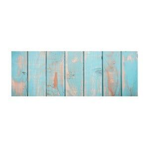 Vinylový koberec Turquesa Tablas de Colores,50x140 cm