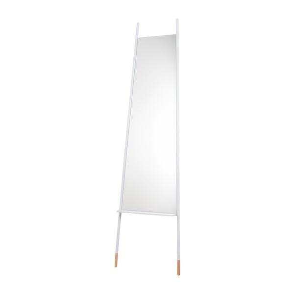 Oglindă Zuiver Leaning, alb