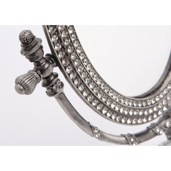 Stolní zrcadlo Silver, 19x26 cm