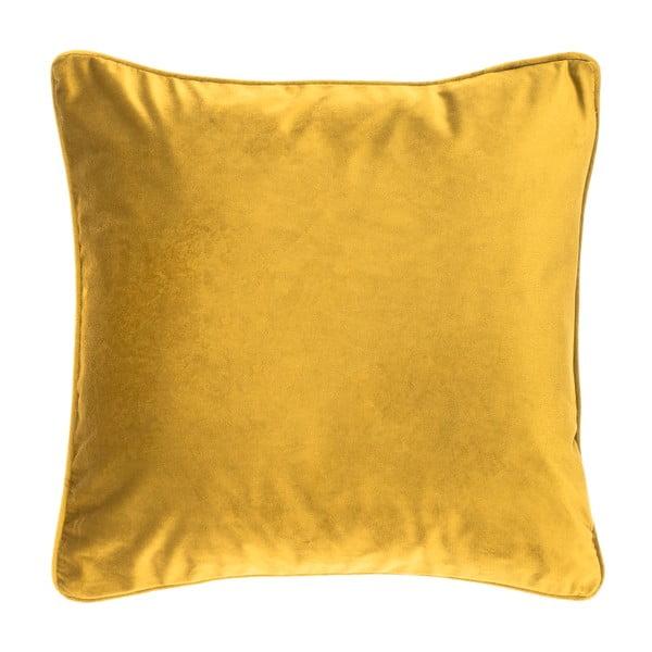 Zielono-żółta poduszka Tiseco Home Studio Velvety, 45x45 cm