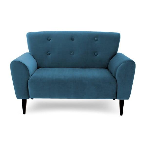 Canapea cu 2 locuri Vivonita Kiara Aqua, albastru