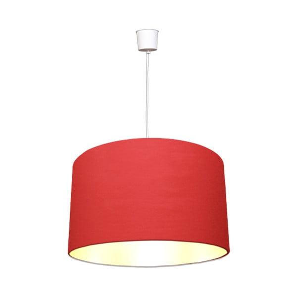 Závěsné světlo White Inside One Red