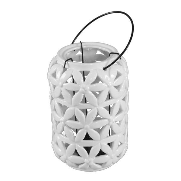 Biely porcelánový lampáš Mauro Ferretti Porcellana