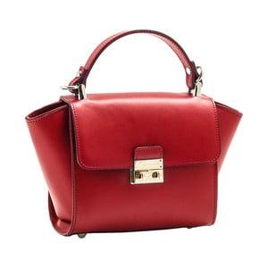 Červená kabelka z pravé kůže Andrea Cardone Patero
