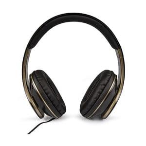 Sluchátka ve zlato-černém provedení Veho Glorious