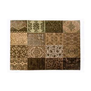 Hnědý koberec z bavlny Cotex Colorado, 140 x 200 cm