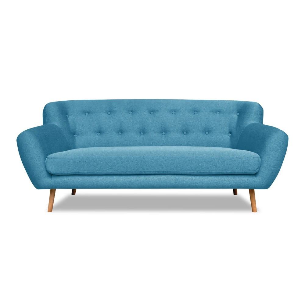 Tyrkysová pohovka pro tři Cosmopolitan design London