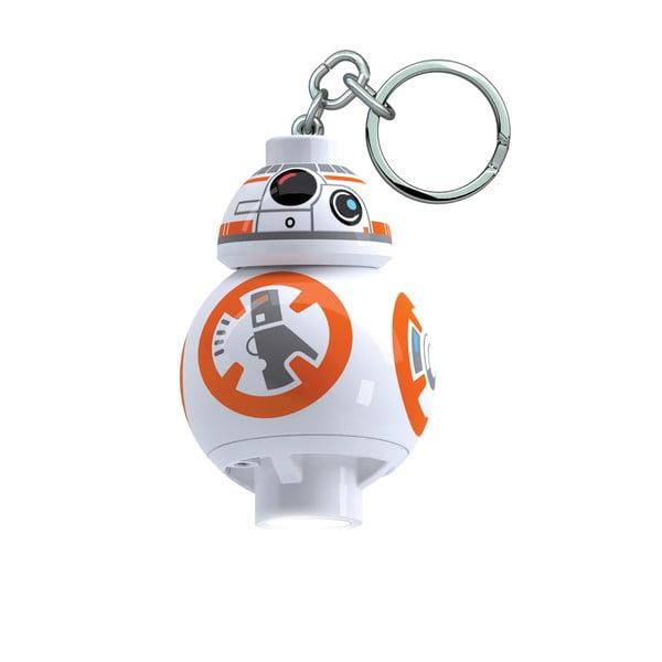 Breloc cu lanternă Lego Star Wars BB8