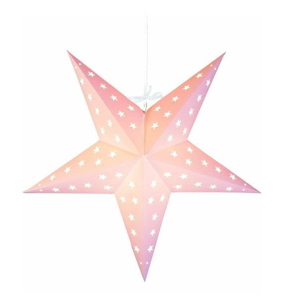 Závěsná svítící hvězda Star Beige, 43 cm