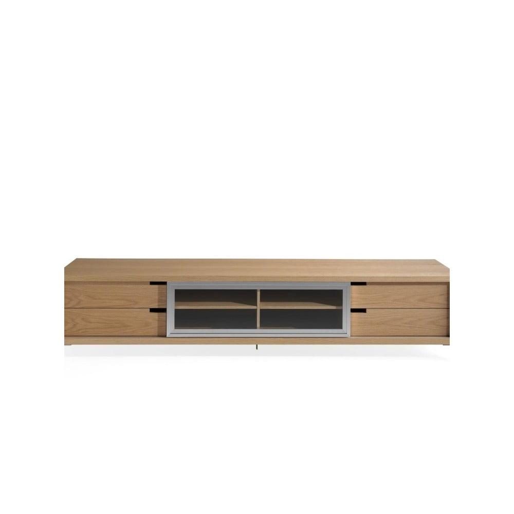 TV stolek z dubového dřeva Ángel Cerdá Poppy