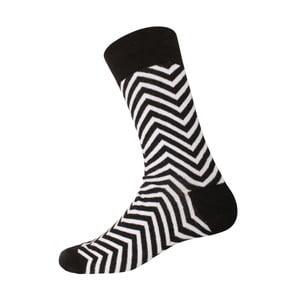 Ponožky Linie Black/White, velikost 40-44