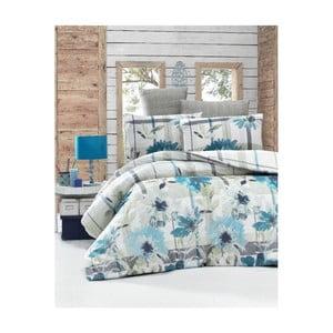 Lenjerie de pat cu cearşaf şi 2 feţe de pernă Vanessa Malo, 200 x 220 cm