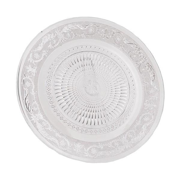 Skleněný talíř Clayre Eef, 25 cm