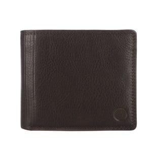 Kožená peněženka Benedict Dark Brown