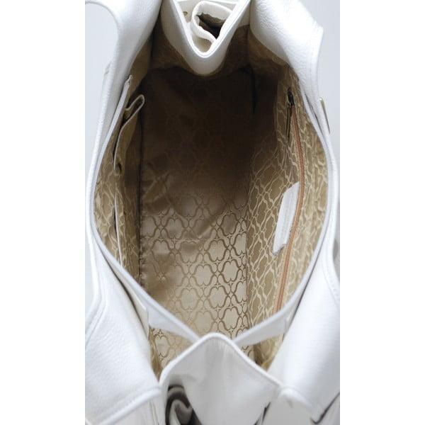 Kožená kabelka Manici Bianco