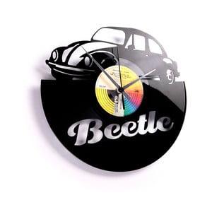 Vinylové hodiny Beetle